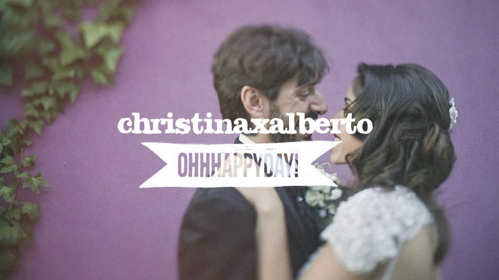 Christina x Alberto. Video de boda en Zaragoza.